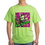 Born To Climb Green T-Shirt