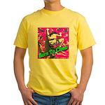 Born To Climb Yellow T-Shirt
