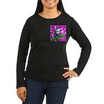 Born To Climb Women's Long Sleeve Dark T-Shirt