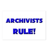 Archivists Rule! Postcards (Package of 8)