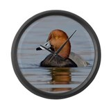 Funny Waterfowl Large Wall Clock