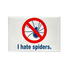 I hate spiders Rectangle Magnet (100 pack)