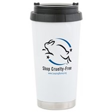 Leaping Bunny (Ceramic Travel Mug)