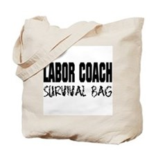 Labor Coach Hospital Survival Tote Bag