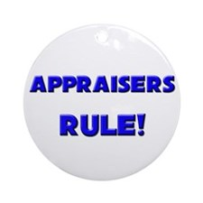 Appraisers Rule! Ornament (Round)