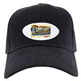 St Petersburg Florida Greetings Baseball Hat