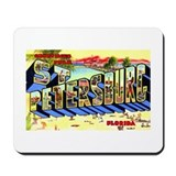 St Petersburg Florida Greetings Mousepad
