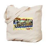 St Petersburg Florida Greetings Tote Bag