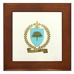 LACASSE Family Crest Framed Tile
