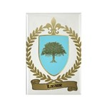 LACASSE Family Crest Rectangle Magnet (10 pack)