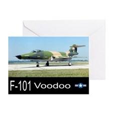 F-101 Voodoo Fighter Greeting Cards (Pk of 20)