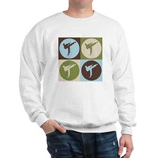 Karate Pop Art Sweatshirt