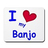 Banjo Mousepad