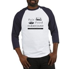 Farmstand/Wendell Berry baseball t-shirt