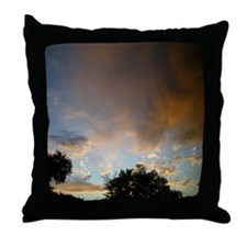 Colorado Sky Throw Pillow