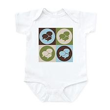 Interpreting Pop Art Infant Bodysuit