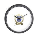 LACOMBE Family Crest Wall Clock