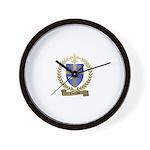 LACOMBE Family Crest Wall Clock