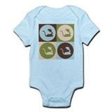 Herpetology Pop Art Infant Bodysuit