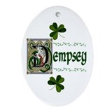 Dempsey Celtic Dragon Keepsake Ornament