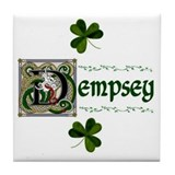 Dempsey Celtic Dragon Ceramic Tile