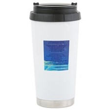 Serenity Prayer Ceramic Travel Mug