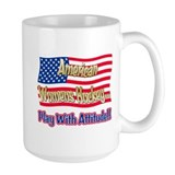 American Womens Hockey Ceramic Mugs
