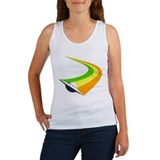 Streaking UFO Women's Tank Top