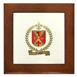 LANDRY Family Crest Framed Tile