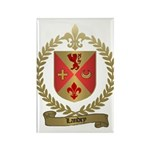 LANDRY Family Crest Rectangle Magnet (100 pack)