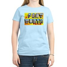 Fort Worth Texas Greetings T-Shirt