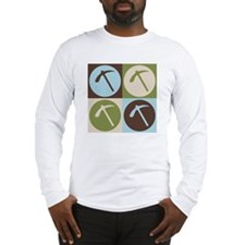 Geology Pop Art Long Sleeve T-Shirt