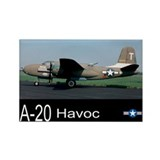A-20 Havoc Bomber Rectangle Magnet (100 pack)