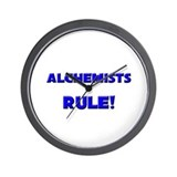 Alchemists Rule! Wall Clock
