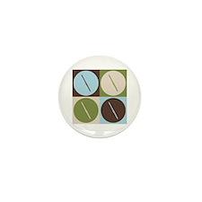 Flute Pop Art Mini Button (100 pack)