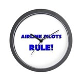 Airline Pilots Rule! Wall Clock