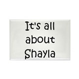Shayla Rectangle Magnet (10 pack)