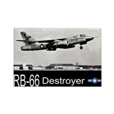 RB-66 Destroyer Reconnaissance Aircraft Rectangle
