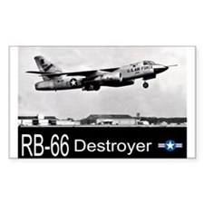 RB-66 Destroyer Reconnaissance Aircraft Decal