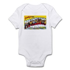 Provincetown Massachusetts Greetings Infant Bodysu