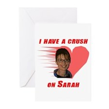 I have a crush on Sarah (with Greeting Cards (Pk o
