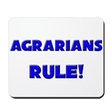 Agrarians Rule! Mousepad