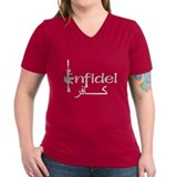 English Arabic Infidel Shirt