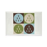 CPAing Pop Art Rectangle Magnet (100 pack)