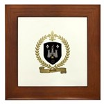 FORTIN Family Crest Framed Tile