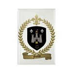 FORTIN Family Crest Rectangle Magnet (100 pack)