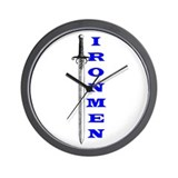 Ironmen Wall Clock