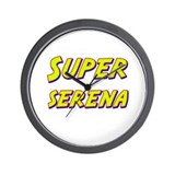 Super serena Wall Clock