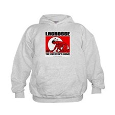 Lacrosse-DrawMan Hoodie