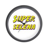 Super selena Wall Clock